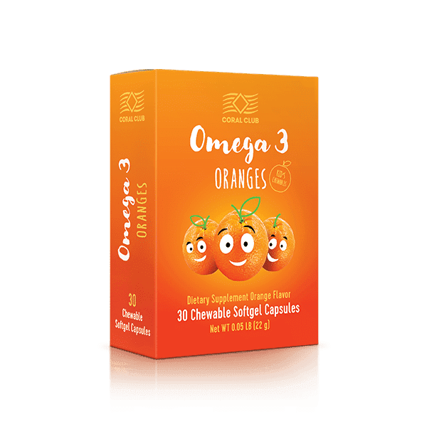 Omega 3 Oranges Omega3 olej dla dzieci c