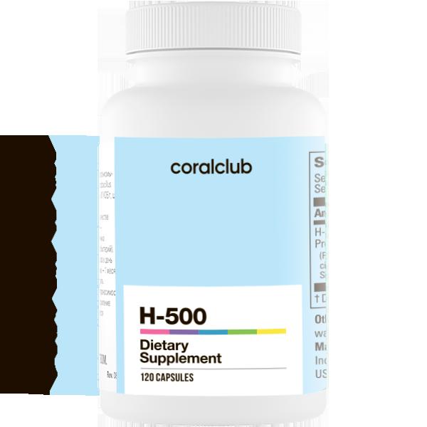 H-500 Coral Club – 60 kapsłek