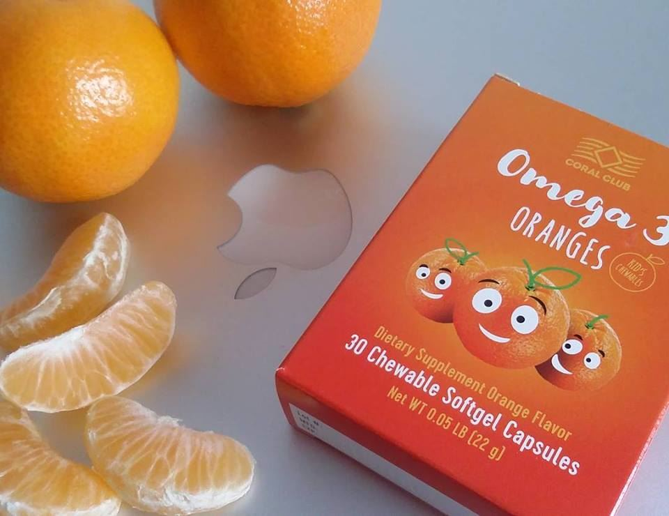 Omega 3 Oranges