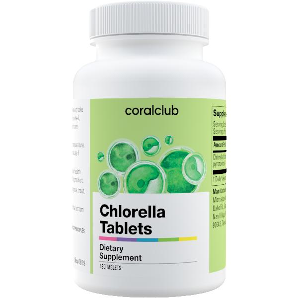 Chlorella Tabletki