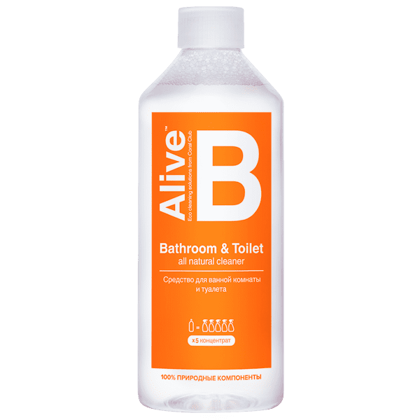 Alive B Bathroom & Toilet cleaner Alive B srodek dla lazienki 600x600