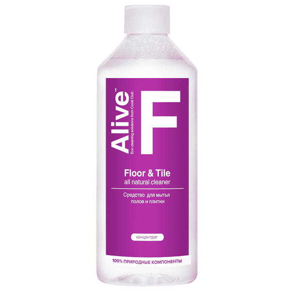 Alive F Floor & Tile cleaner Alive F srodek do mycia podlogi 600x600