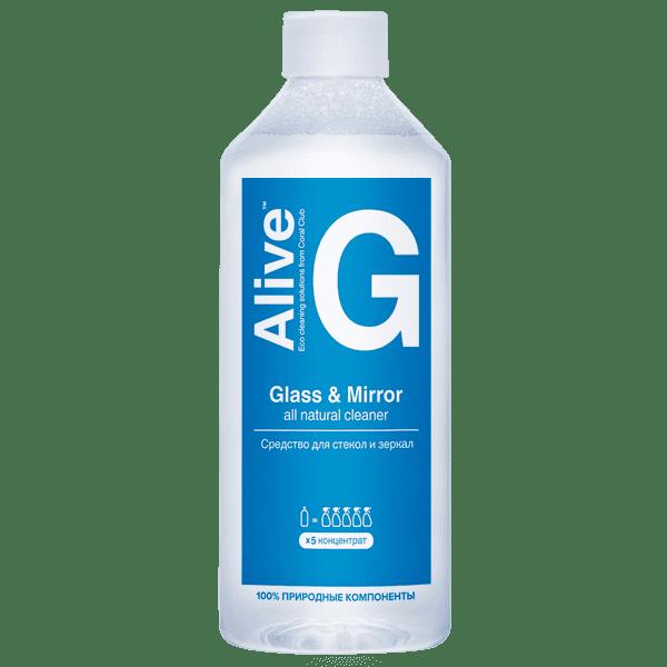 Alive G Glass & Mirror cleaner Alive G srodek dla okna lustra 600x600