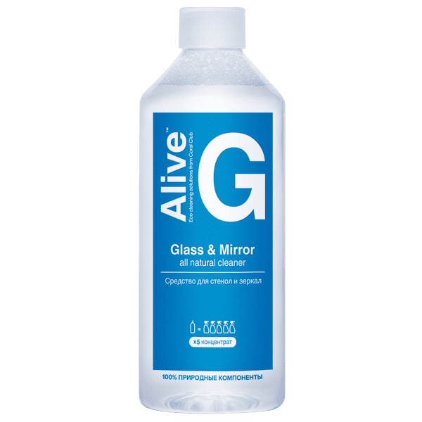 Alive G Glass & Mirror cleaner