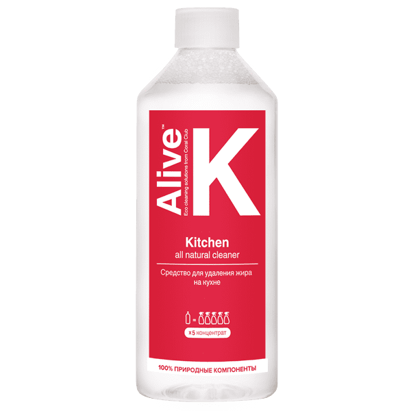 Alive K Kitchen cleaner Alive K dla kuchni 600x600