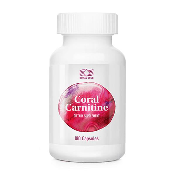 Coral Carnitine Carnitina odchódzanie c