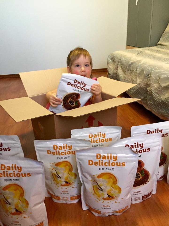 Daily Delicious Czekolada 500gr Daily Delicious koktajl białkowy