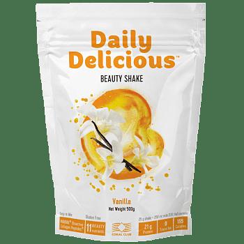 Daily Delicious Wanilia 500gr Daily Delicious koktajl vanilowy z kolagenem c