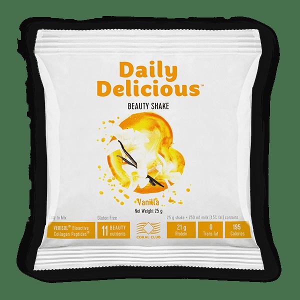 Daily Delicious Wanilia 25gr Daily Delicious koktajl vanilowy z kolagenem 25gr c