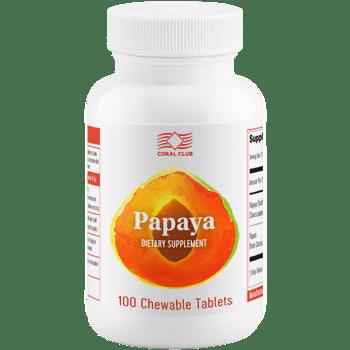 Papaya Papaya enzymy trawienne c