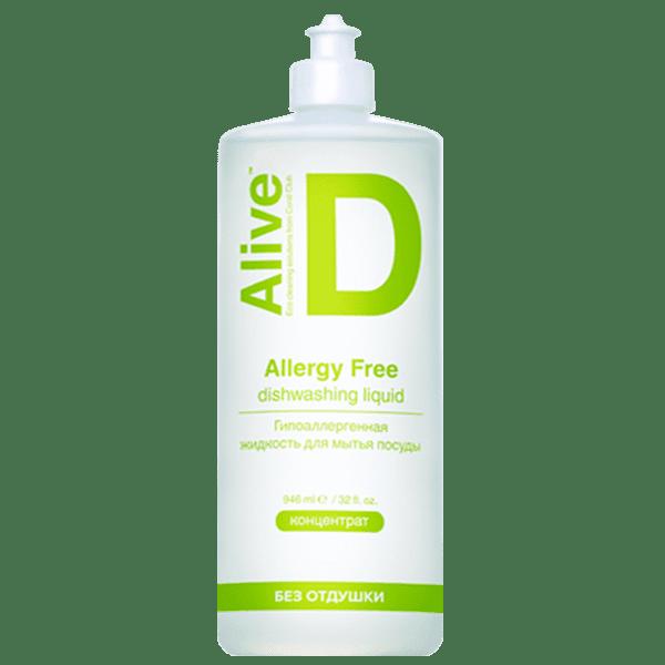 Alive D Hipoalergiczny płyn do mycia naczyń