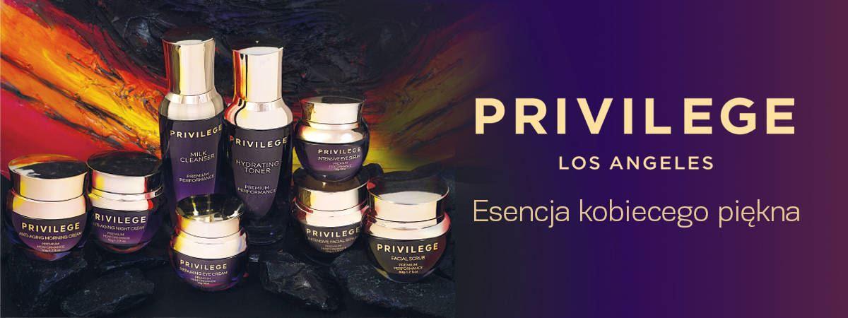 Privilege Oczyszczające mleczko baner Privilege 1200x450
