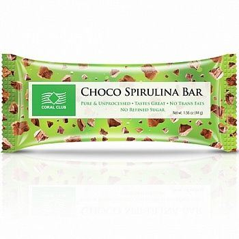 Batonik Choco Spirulina Bar