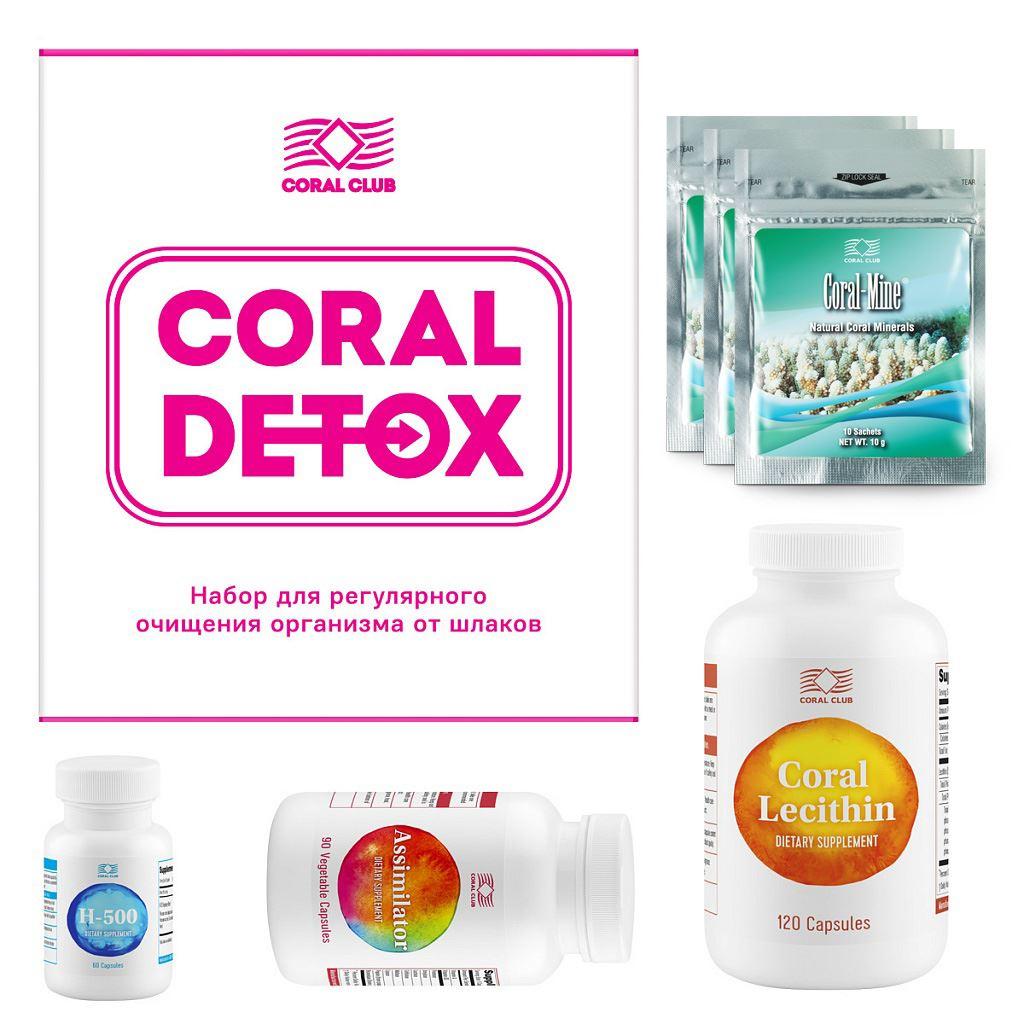 Zestaw Coral Detox coral detox detoksykacja organizmu