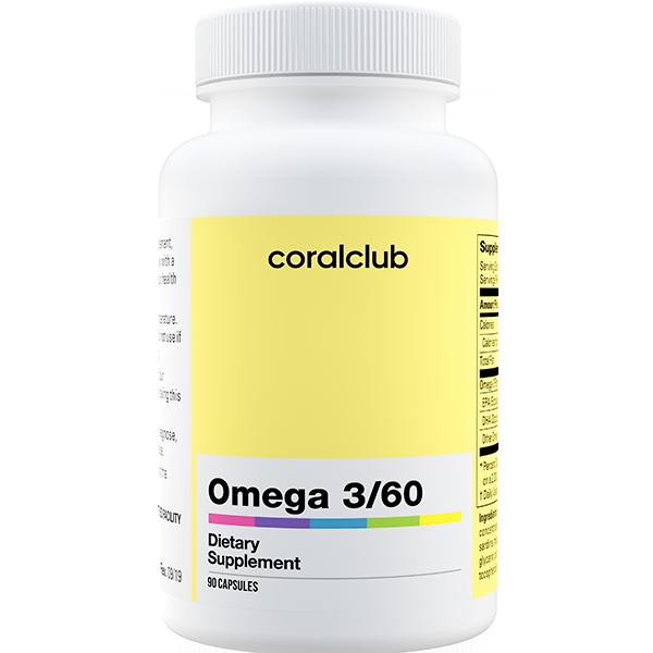 Omega 3/60 90kaps.