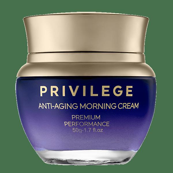 Privilege Przeciwstarzeniowy krem na dzień do twarzy i szyi privilege odmładzający krem na dzień
