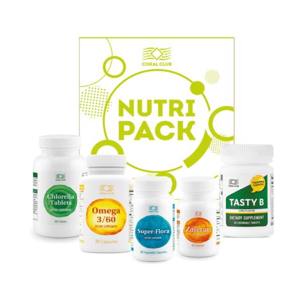 Zestaw Nutri-Pack NutriPack CoralClub 600x600