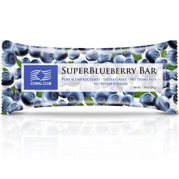 SuperBlueberry Bar